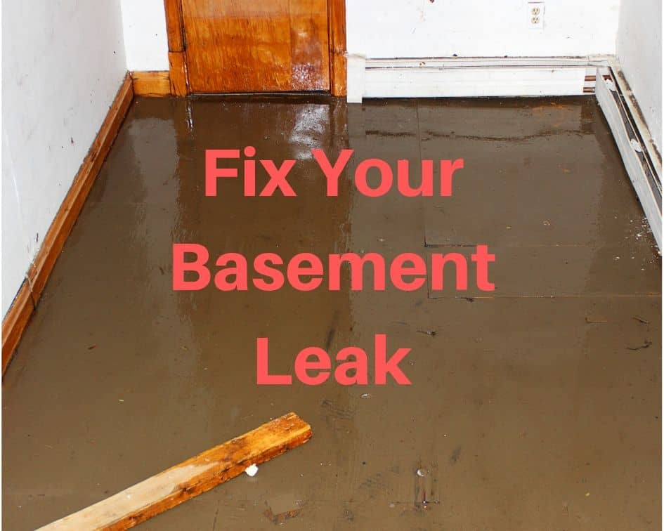 Fix Your Basement Leak