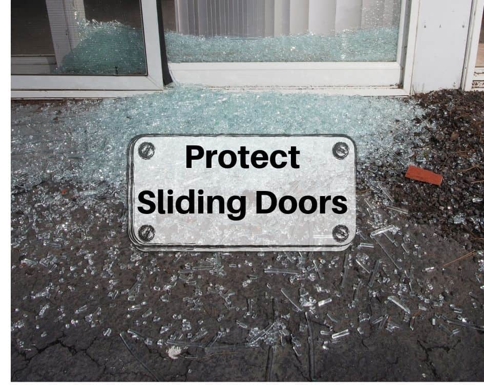 Protect Sliding Doors