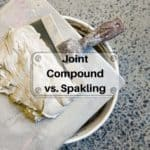 Joint Compound Vs. Spackling: When To Use Them