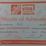 Home Depot Kids Workshop – Build confidence & character with your kids